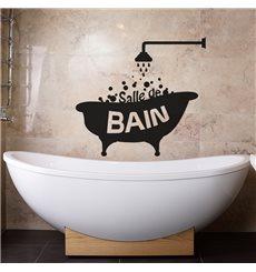 Sticker Design Salle de bain