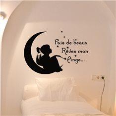 Sticker Fais de beaux rêves