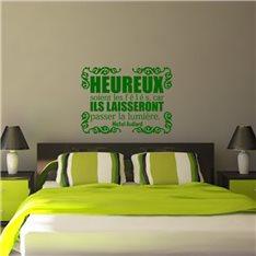 Sticker Heureux soient les fêlés - Michel Audiard