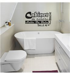 Sticker Cabinet de toilette - Salle de bain