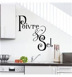 Sticker Poivre & sel
