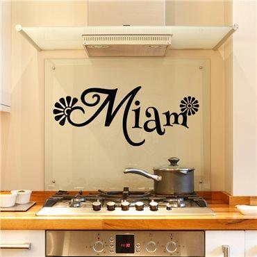 Sticker Ambiance miam - stickers cuisine & stickers muraux - fanastick.com