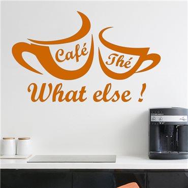 Sticker Café, thé, what else - stickers cuisine & stickers muraux - fanastick.com