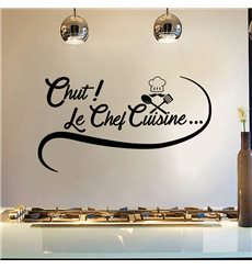 Sticker Chut! Le chef cuisine