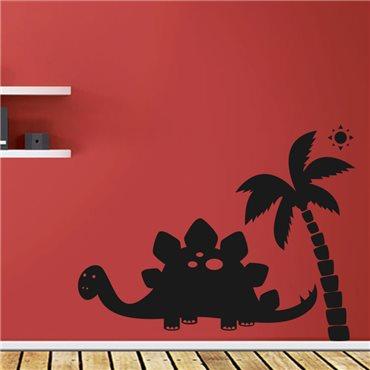 Sticker Dinosaure sous le soleil - stickers chambre garçon & stickers enfant - fanastick.com