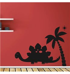 Sticker Dinosaure sous le soleil