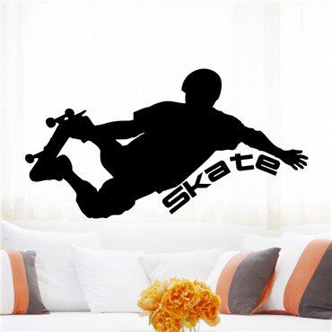 Sticker Design Skater - stickers chambre garçon & stickers enfant - fanastick.com