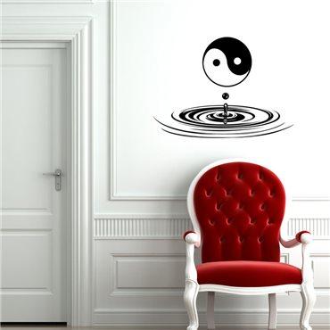 Sticker Yin Yang Zen - stickers zen & stickers muraux - fanastick.com