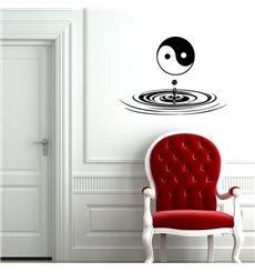 Sticker Yin Yang Zen