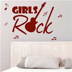Sticker Girls Rock