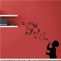 Sticker Un souffle de musique