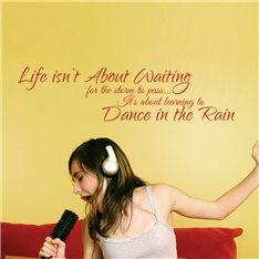 Sticker Dance in the Rain