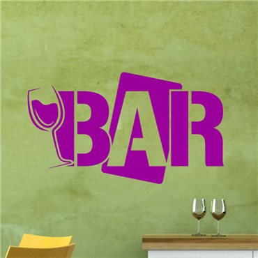 Sticker Design Bar - stickers cuisine & stickers muraux - fanastick.com