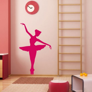 Sticker Ballerine - stickers enfants & stickers enfant - fanastick.com