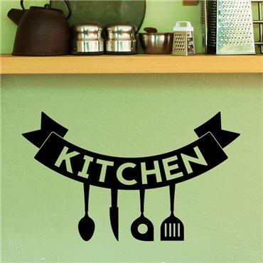 Sticker Affiche Kitchen - stickers cuisine & stickers muraux - fanastick.com