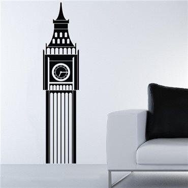 Sticker Londres big Ben - stickers london & stickers muraux - fanastick.com