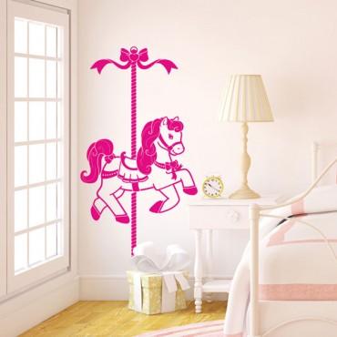 Sticker Carrousel - stickers enfants & stickers enfant - fanastick.com