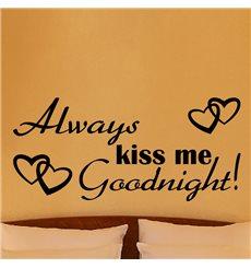 Sticker Kiss me goodnight