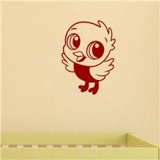 Sticker Petit oiseau volant