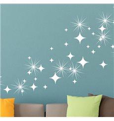 Sticker Pack de 50 stickers étoiles & 15 Swarovski crystal 3mm