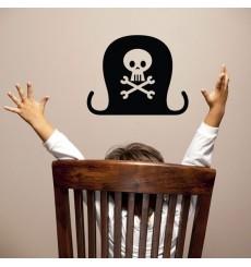 Sticker Chapeau pirate