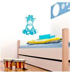 Sticker Petite girafe assis