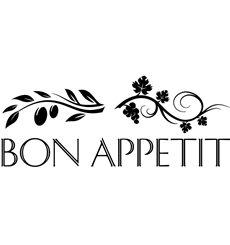 Sticker déco Bon appétit