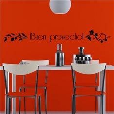 """Sticker """"Buen provecho"""""""