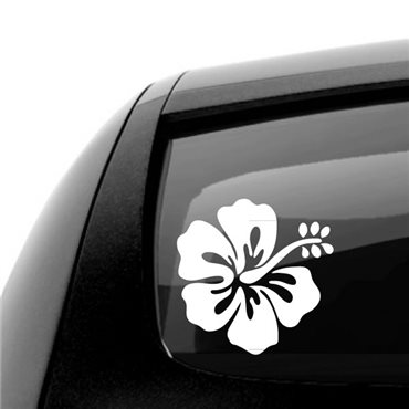 Sticker Fleur d'hibiscus - stickers fleurs & stickers muraux - fanastick.com