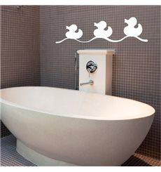 Sticker canards de bain