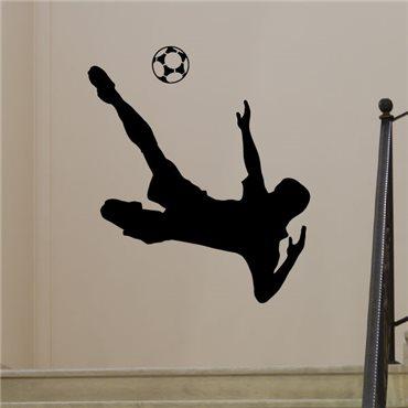 Sticker footballeur 8 - stickers foot & stickers muraux - fanastick.com