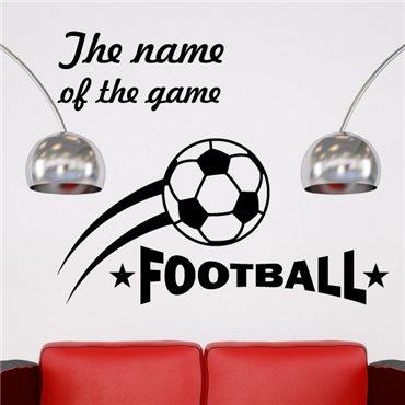 Sticker devis pour Football 1 - stickers foot & stickers muraux - fanastick.com