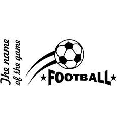 Sticker devis pour Football 1