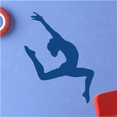 Sticker gymnaste fille 2