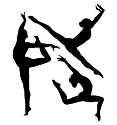 Sticker série de gymnastes