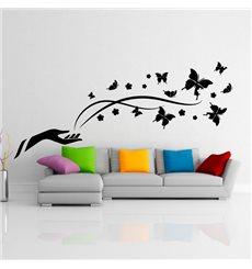 Sticker Muraux Papillons