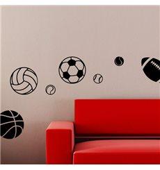 Sticker sports de ballons