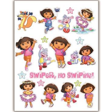 Sticker Lot de stickers Dora - stickers chambre fille & stickers enfant - fanastick.com