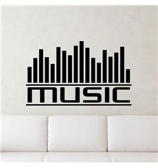 Sticker Graphe music
