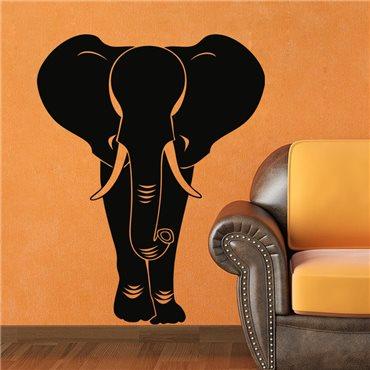 Sticker Design éléphant - stickers animaux & stickers muraux - fanastick.com