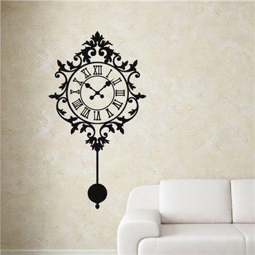 Sticker Design horloge - stickers baroque & stickers muraux - fanastick.com