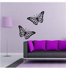 Sticker Deux papillons