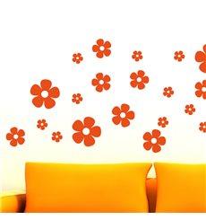 Sticker 30 fleurs 1