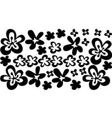 Sticker 30 fleurs 2