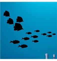 Sticker 30 poisson d'océan