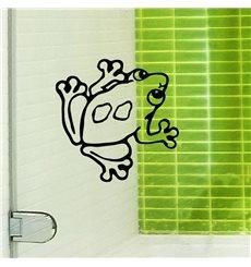 Sticker frog 1