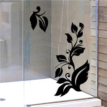 Sticker motif floral 3 - stickers fleurs & stickers muraux - fanastick.com
