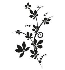 Sticker motif floral 1