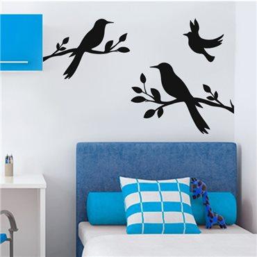 Sticker Design oiseaux - stickers oiseaux & stickers muraux - fanastick.com