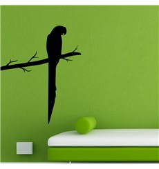 Sticker Perroquet sur une branche
